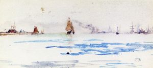 James Abbott Mcneill Whistler - Zuyder Zee