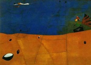 Joan Miro - Paisaje estafa gallo