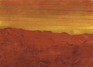 Max Ernst - Arizona colorete
