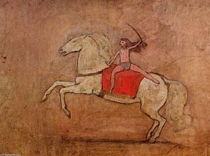 Pablo Picasso - amazon on caballo