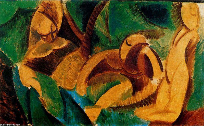 Baño, aceite de Pablo Picasso (1881-1973, Spain)