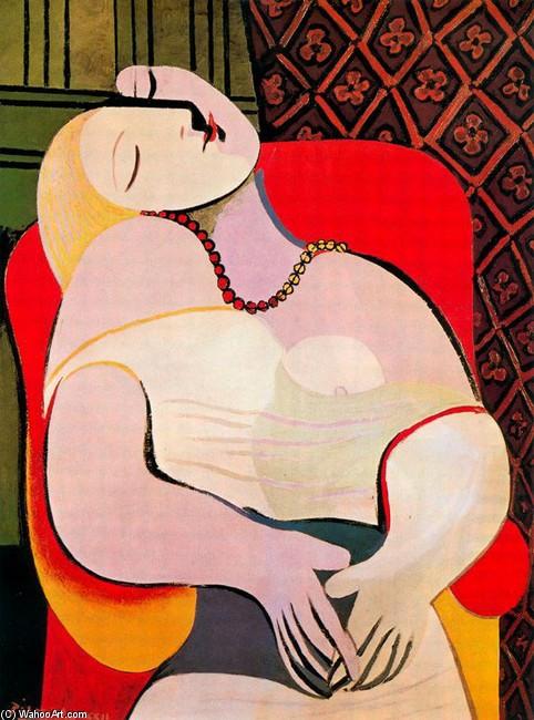 El sueño, óleo de Pablo Picasso (1881-1973, Spain)