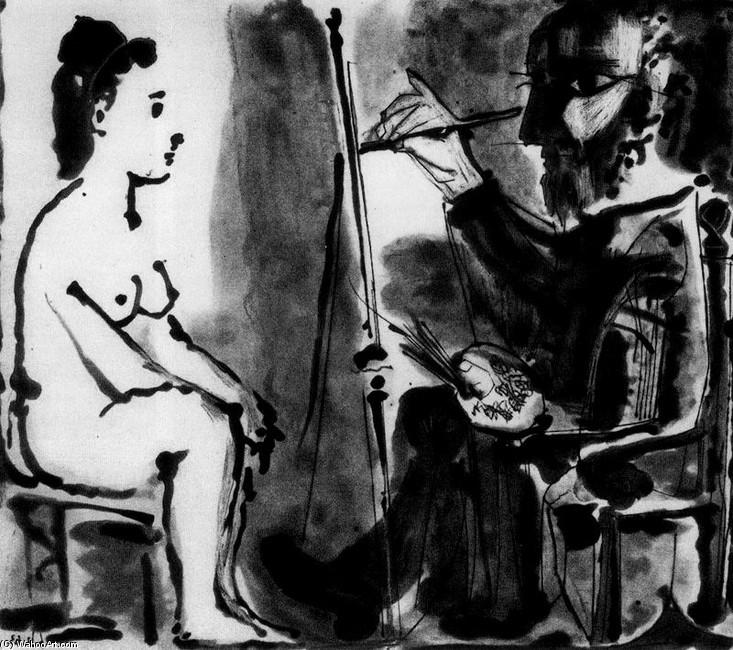 De otros mundos: Juan García Ponce / Picasso / El pintor y su modelo