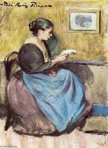 Pablo Picasso - mujer leyendo 1