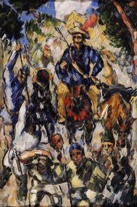 Paul Cezanne - Don Quijote, visto de frente