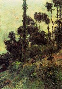 Paul Gauguin - Ladera