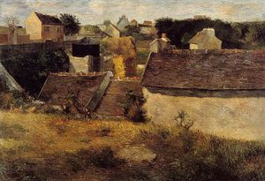 Paul Gauguin - Casas, Vaugirard