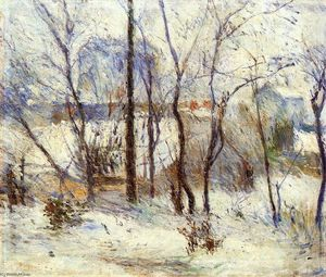 Paul Gauguin - Nieve en Vaugirard