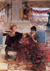 Lawrence Alma-Tadema - Del Amor Jewelled Fetter