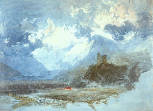 William Turner - Castillo Dolbadern