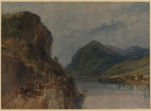 William Turner - Los Drachenfels