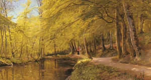 Peder Mork Monsted - Una tarde de paseo