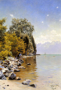 Peder Mork Monsted - Pesca en el lago Leman