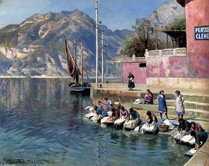Peder Mork Monsted - lavadora mujeres , Torbole