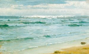 Peder Severin Kroyer - Mar en Skagen