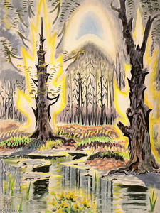Charles Ephraim Burchfield - gloryofspring ( radiante primavera )