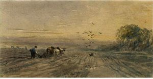 David Cox - The Plough-Team