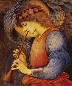Edward Coley Burne-Jones - Un ángel