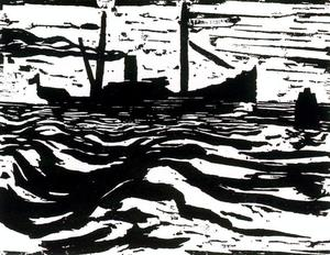 Emile Nolde - Arrastrero Steam