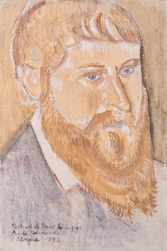 Retrato de Paul Sérusier de Emile Bernard (1868-1941, France)