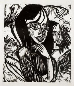 Ernst Ludwig Kirchner - Chicas de Fehmarn