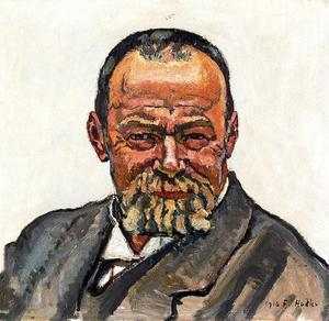 Ferdinand Hodler - Self-portrait 2