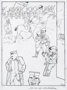 George Grosz - No somos capaces de Liga