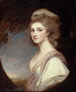 George Romney - Señorita Frances Mary Harford