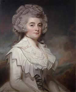 George Romney - Miss Mary Finch-Hatton
