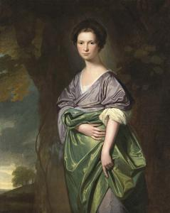 George Romney - RETRATO DE MRS . JAMES FLETCHER