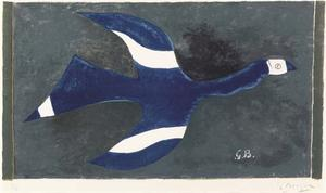 Georges Braque - pájaro 1