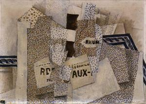 Georges Braque - Botella de Ron