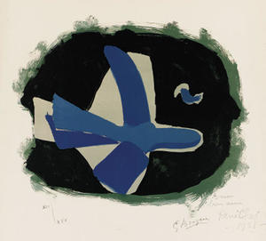 Georges Braque - bosque aves