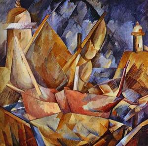 Georges Braque - Puerto en Normandía