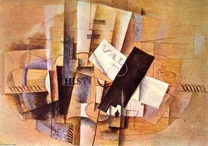 Georges Braque - Tabla del Músico