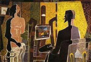 Georges Braque - el pintor y sus model