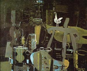 Georges Braque - el estudio ( VI )