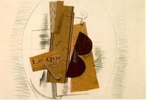 Georges Braque - Violín y Pipe, Le Quotidien