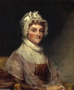 Gilbert Stuart - Abigail Smith Adams