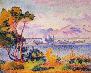 Henri Edmond Cross - Antibes, Tarde