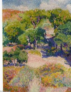 Henri Edmond Cross - Cipreses