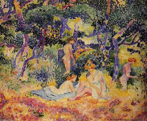 Henri Edmond Cross - Los Bosques