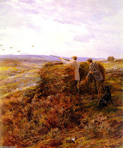 Heywood Hardy - The Shoot Grouse