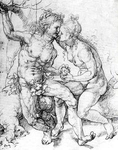 Jan Gossaert (Mabuse) - Adam y Eve 4