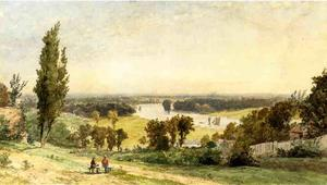 Jasper Francis Cropsey - Richmond Hill en 1862