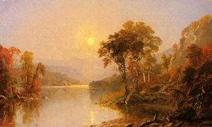 Jasper Francis Cropsey - Río Winding