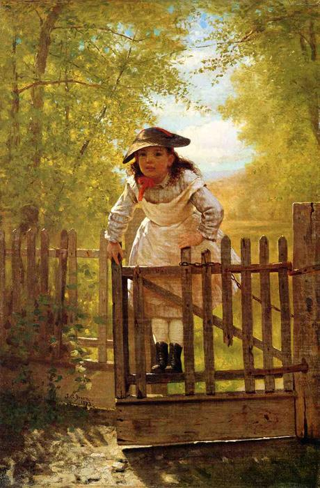 El Tomboy, 1873 de John George Brown (1831-1913, United Kingdom) | WahooArt.com