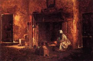 Jonathan Eastman Johnson - Cocina en Mount Vernon