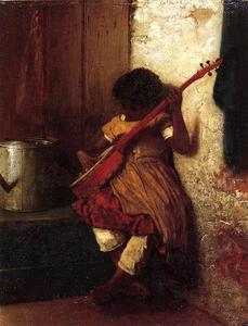 Jonathan Eastman Johnson - El instinto musical