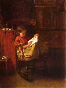 Jonathan Eastman Johnson - El Boston Rocker